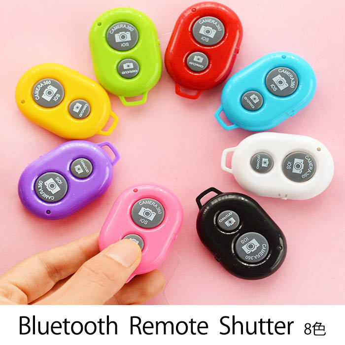 Bluetoothリモートシャッター iOS Android スマホ 自撮り Bluetooth Remote Shutter Release/2788円